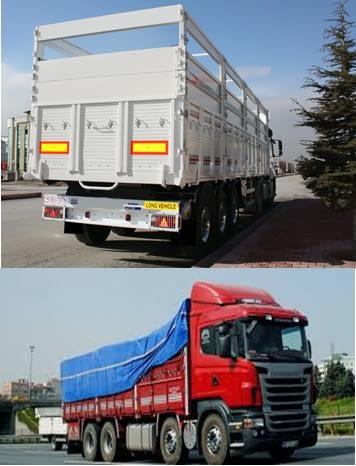 sebze taşıyan kamyonlar