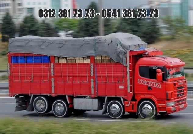 sebze tasima kamyonu ankara ambar